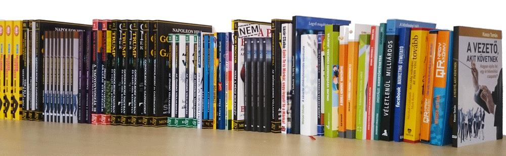 Bónusz ajándék hozzá egy értékes üzleti könyvet a Websiker Könyvtárból! Választhatsz is, vagy ajánlok az alapján, amilyen problémával érkezel.