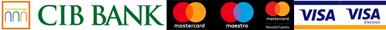 Bankártyás fizetés a CIB Bank biztonságos online felületén