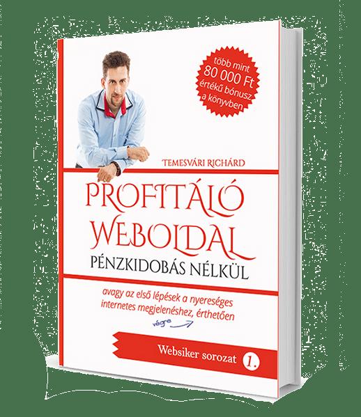 PROFITÁLÓ WEBOLDAL PÉNZKIDOBÁS NÉLKÜL